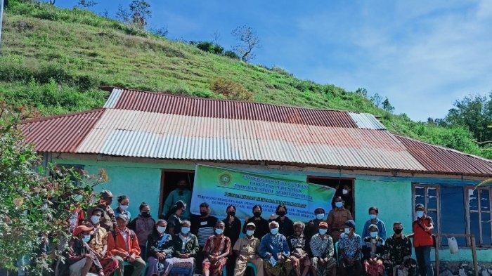 Dosen dan Mahasiswa Agroteknologi Faperta Undana PKM di Fatuulan Timor Tengah Selatan
