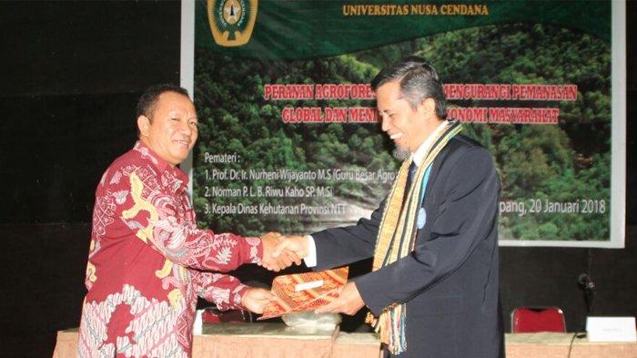 BEM Faperta Undana Gelar Seminar Nasional tentang Agroforestry di Awal Tahun 2018