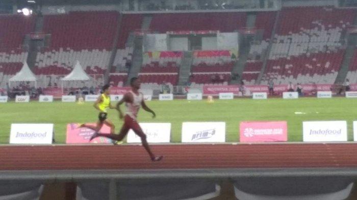 Harumkan Nama NTT, Pelari Indonesia Felipus Kolimon Lolos ke Final 400m Asian Para Games