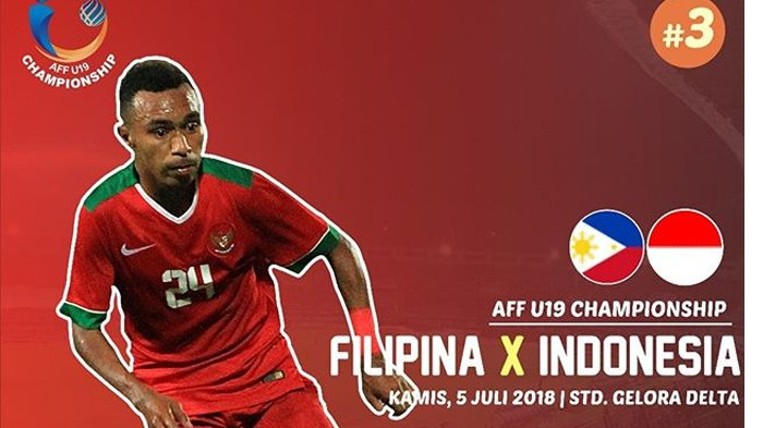 LIVE Streaming Indosiar Piala AFF U-19, Indonesia vs Filipina Pukul 19.00 WIB Malam Ini