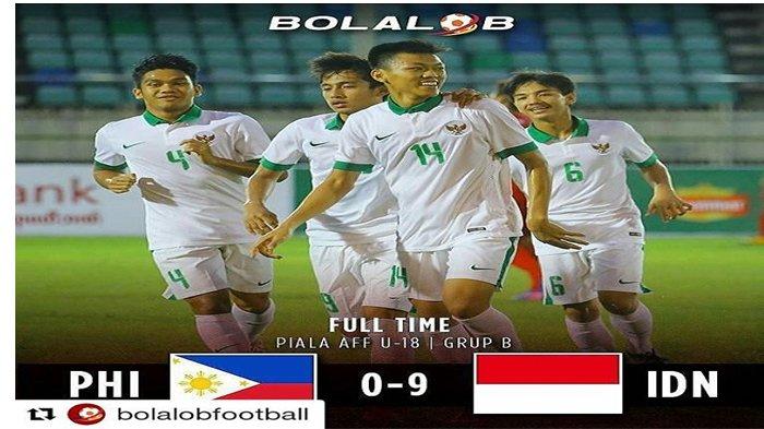 LIVE Streaming Indosiar, Inilah Susunan Pemain Timnas U-19 Indonesia vs Filipina