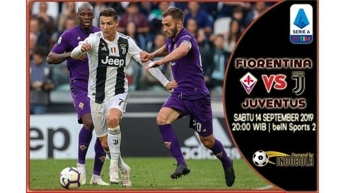 Link Live Streaming Fiorentina vs Juventus, Siaran Langsung Liga Italia Sabtu 14/9 Jam 21.00 WIB