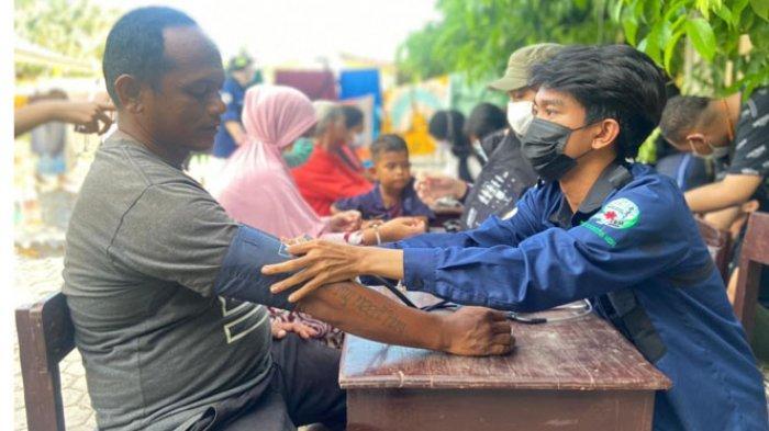 FK Undana Periksa Kesehatan Pengungsi Korban Siklon Seroja di Oesapa dan Oeba