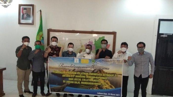 Bupati Mabar Sambut Baik Program Pelatihan Pariwisata Setingkat D1 di Labuan Bajo