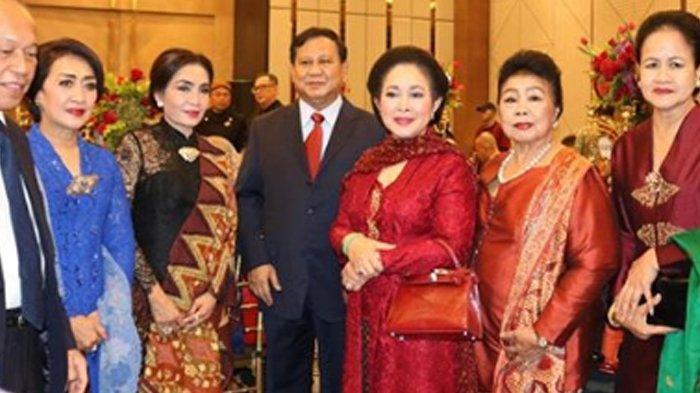 Reaksi Titiek Soeharto Saat Prabowo Dilantik Jadi Menteri Disorot Lihat Raut Wajahnya Ini Bikin Syok