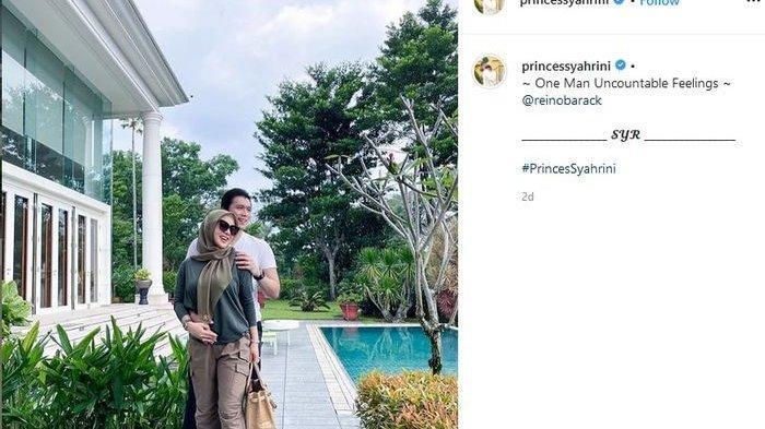 Foto Syahrini dan Suami di Instagram
