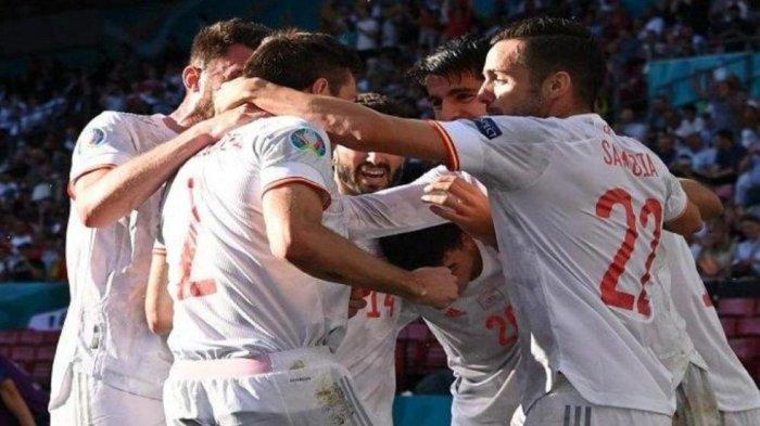 LIVE Swiss vs Spanyol di RCTI, Jadwal Siaran Langsung 8 Besar Euro 2021 & Cara Nonton MolaTV di HP