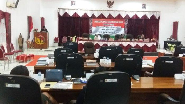 Fraksi-Fraksi DPRD Belu Sampaikan Pandangan Umum Terhadap Pengantar Nota Keuangan