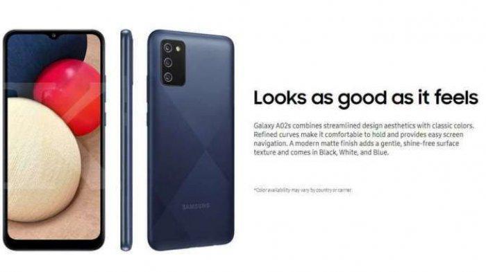 HP Samsung A02s Dengan Harga Rp 1 Jutaan di Bulan Februari 2021, Spesifikasi Ponsel Murah Samsung