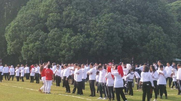 Gara-gara 2 Menteri Ini, Acara Family Gathering Presiden Jokowi di Bogor Penuh Tawa