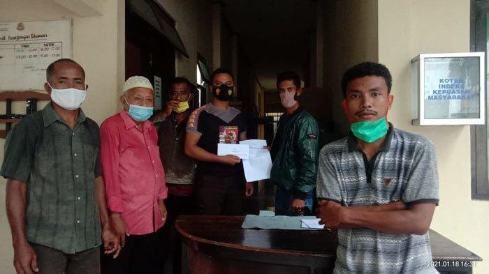 Gara-Gara BLT COVID-19, Warga Desa Kalikur Lembata Adukan Mantan Penjabat Kades di Polres