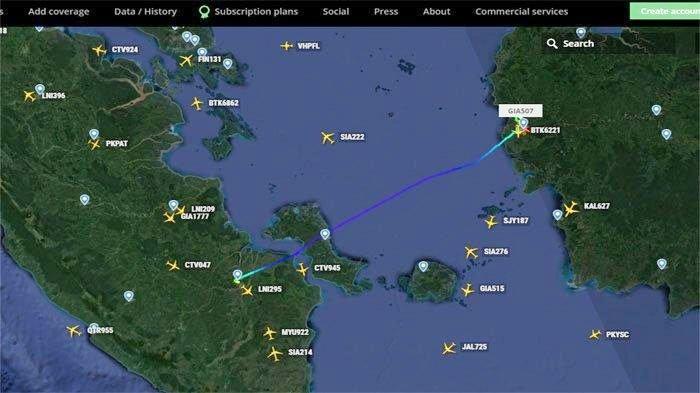 Detik-detik Garuda GA504 dan Lion Air JT684 Gagal Mendarat di Bandara Supadio Pontianak