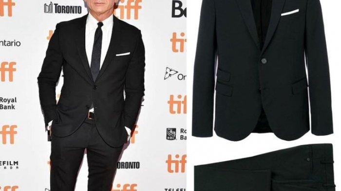 Gaya James Bond Padukan Jas dengan Sneakers, Intip Yuk!