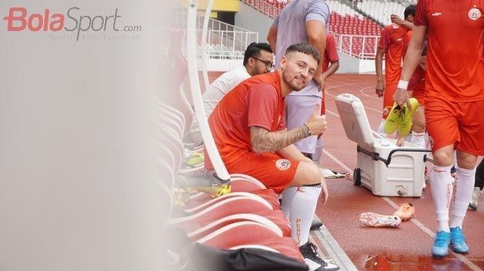 Pemain Bintang Macan Kemayoran Marc Klok Tak Sabar Habisi  Persib Bandung, antar Persija Juara ?