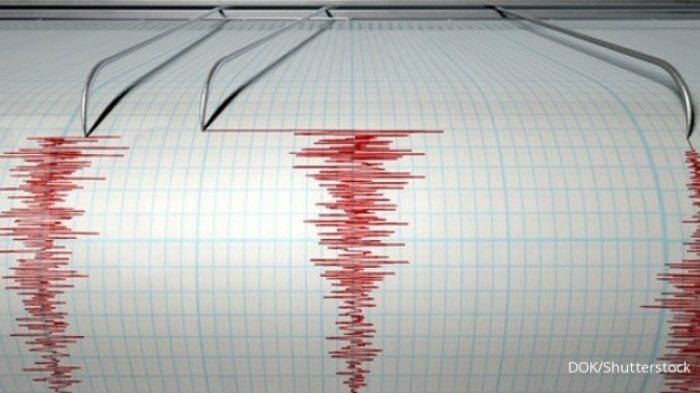 Sempat Bikin Panik, Gempa Tektonik Guncang Ende & Sikka,Untung Tak Berpotensi Tsunami, Pusat di Sini