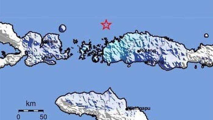 BREAKING NEWS: Gempa 4,9 SR Landa Labuan Bajo, Manggarai Barat, Flores, NTT