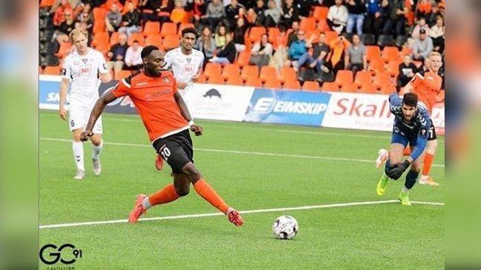 Geoffrey Castillion, pemain asal Belanda yang diprediksi jadi penyerang anyar Persib Bandung.