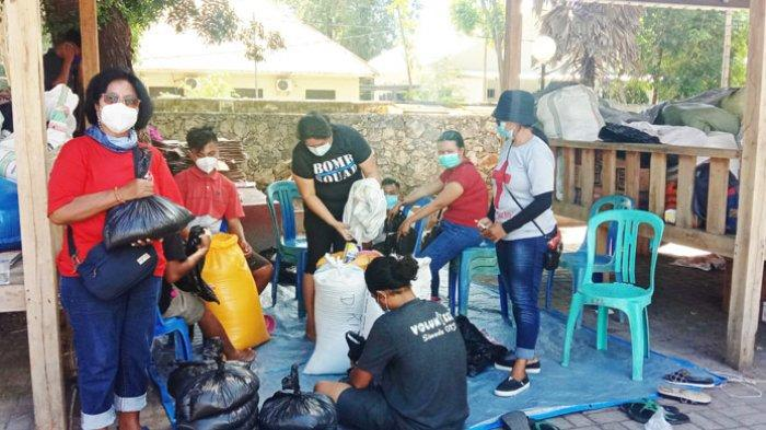 GKS Salurkan Sembako Bagi Pasien Covid-19 yang Isolasi Mandiri