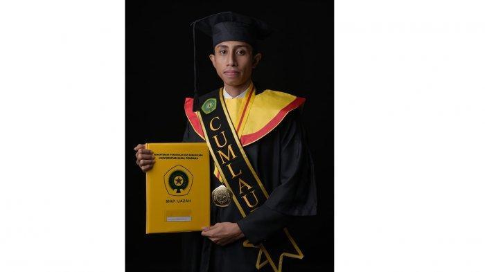 DO Dari Unika, Glen Adoe Lakukan Ini & Raih IPK Tertinggi 3,93 di FH Undana Kupang