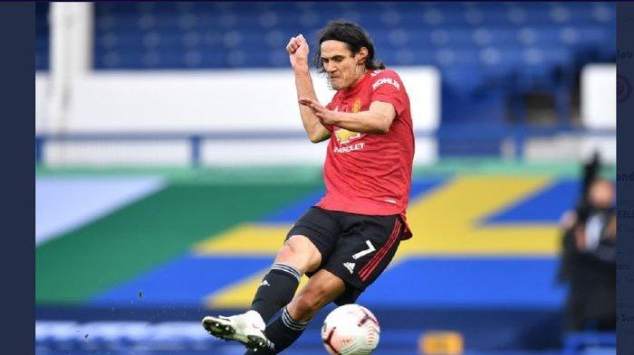 Man United vs Wolverhampton Wanderers: Cavani Tatap Rekor Pemain Cadangan