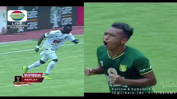 Skor Akhir Persebaya vs Arema FC 2-2, Lihat Cuplikan Gol Final Leg 1 Piala Presiden 2019
