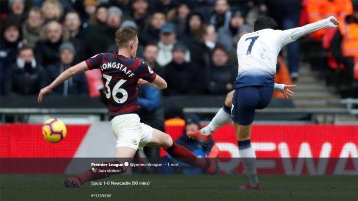Cuplikan Gol Tottenham Hotspur vs Newcastle United: Gol Penyelamat Son Heung-min