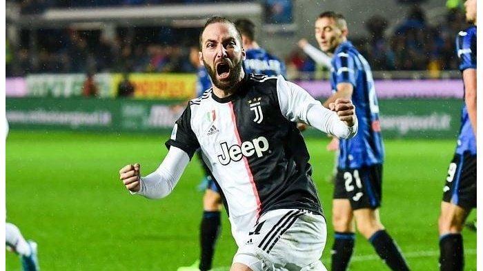 Hasil Liga Italia Atalanta vs Juventus, Gonzalo Higuain Jadi Bintang Kemenangan Si Nyonya Tua