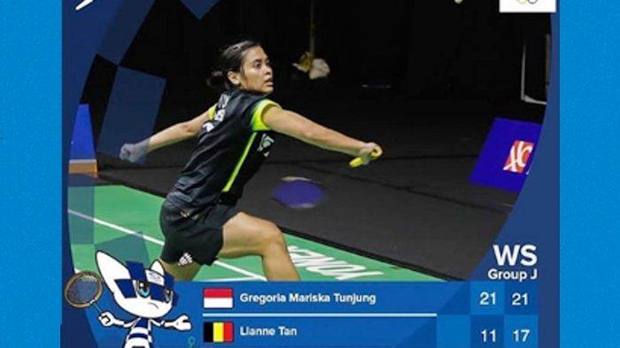 Gregoria Mariska Tunjung Berjaya di Olimpiade Tokyo 2020, Maju ke Semifinal Usai Kalahkan Lianne Tan