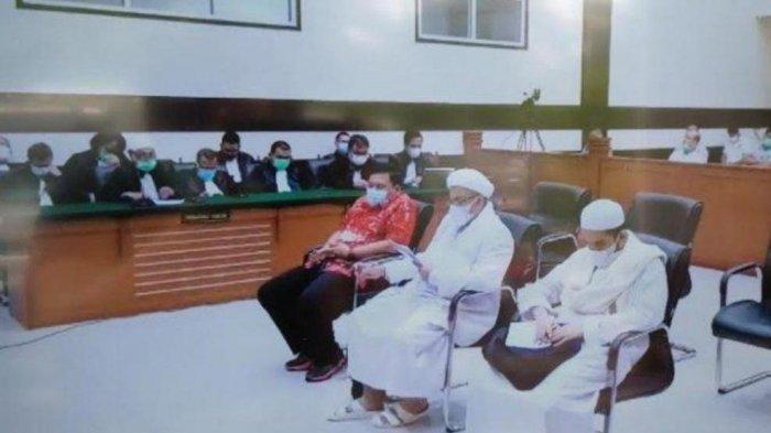 Permalukan Rizieq Shihab Di Muka Persidangan, JPU Sebut Terdakwa Imam Besar Tapi Hanya Isapan Jempol