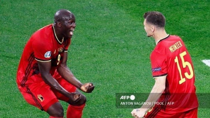 Update di Link Live Score Piala Eropa Grup B Hasil Euro 2021, Belgia vs Denmark