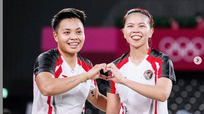 Bulu Tangkis Olimpiade Tokyo - Greysia/Apriyani ke Final Seusai Menang Dramatis atas Pasangan Korsel