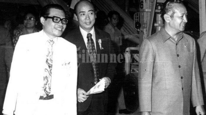 Hanya Karena Sebatang Rokok HubunganBisnis Liem Sioe Liong dengan Ipar Soeharto Dibikin Hancur