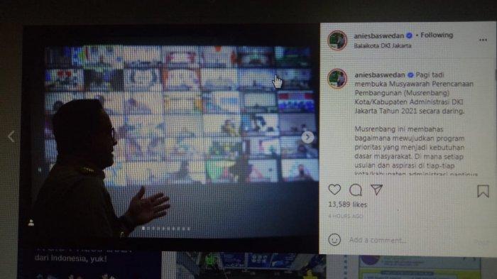 Anies Baswedan Buka Musrenbang, Gubernur DKI Jakarta Peduli Ekonomi Rakyat, Didoakan Jadi Presiden