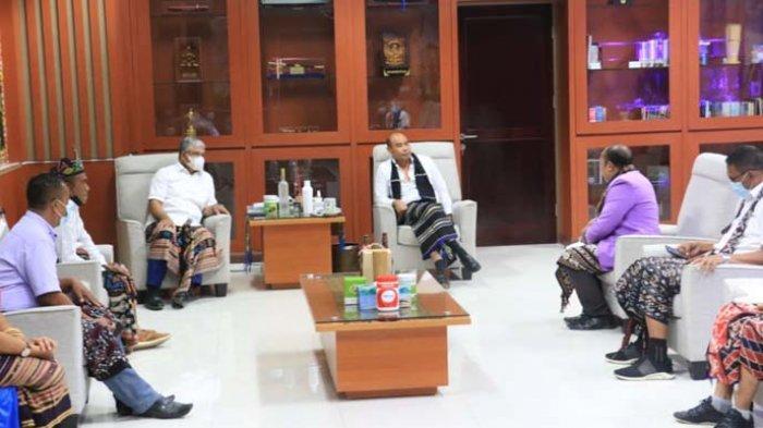 Gubernur Dorong Pemuda GMIT Kembangkan Potensi Daerah