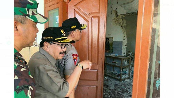 Pasca Gempa Bumi Guncang Pulau Sapudi Sumenep, Gubernur Jatim Sebut 246 Rumah Rusak