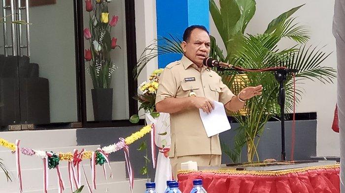 Inilah Pidato Terakhir Gubernur Frans Lebu Raya di Paripurna DPRD NTT
