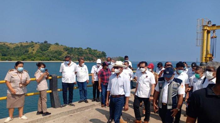 Gubernur NTT Vicktor Laiskodat Tinjau Food Estate Rotiklot dan Pelabuhan Rotiklot