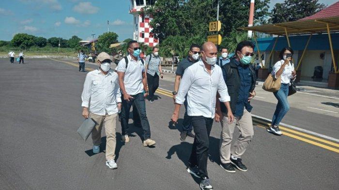 Di Kabupaten Lembata, Desa Amakaka Jadi Tempat Kunjungan Presiden Jokowi Meninjau Lokasi Bencana