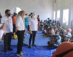 Makan Minum Pengungsi di Desa Tasain Kabupaten Belu Terjamin