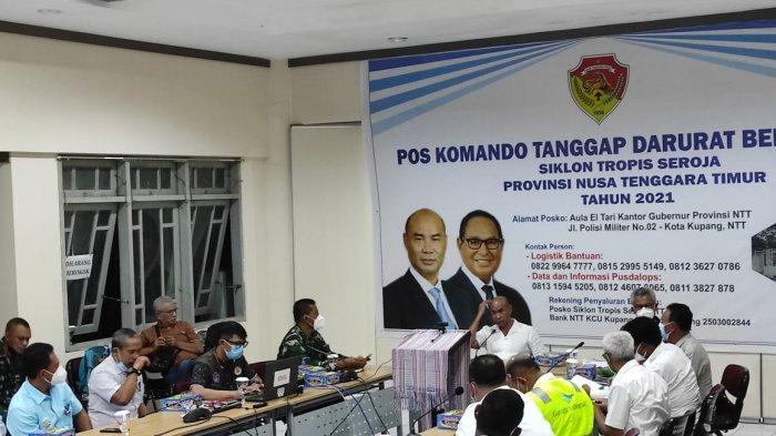 Penanganan Bencana Siklon Seroja Makan Korban, Kepala BPBD NTT Dipecat, Bupati Kupang
