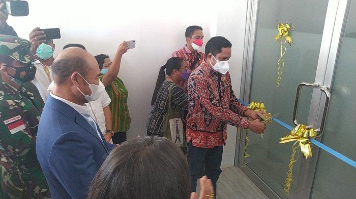 Gubernur Viktor Laiskodat Resmikan Gedung ICU Covid-19 dan Laboratorium PCR di Kupang