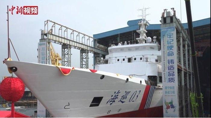 Laut China Selatan Memanas, China Tambahkan Kapal Baru yang Kuat ke Armada Patroli Maritim