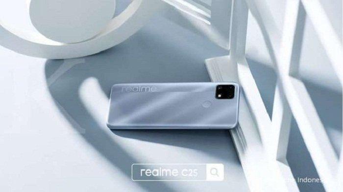 HP Murah dari Realme dengan Baterai Besar dan Kamera Canggih Hanya Rp 2 Jutaan  ada di Realme C25