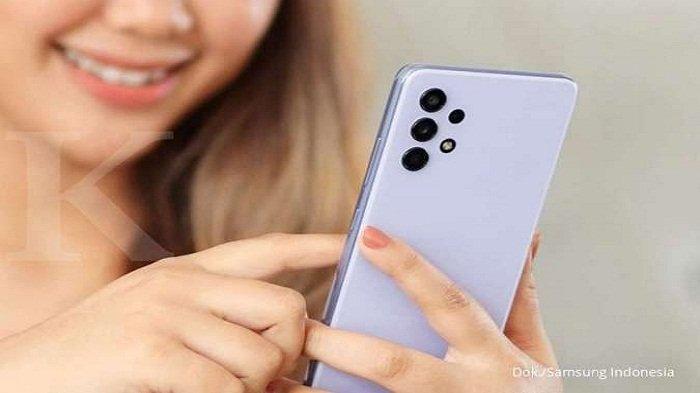 HP Samsung A32 Hadir Dengan Memory 8/128 GB, 4 Kamera Belakang Baterai 5000mAh Harga Rp 3 Jutaan
