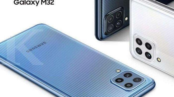 HP Samsung Terbaru, Galaxy M32 varian 8/128G , 4 Kamera Belakang Ada Promo Flash Sale Lebih Murah