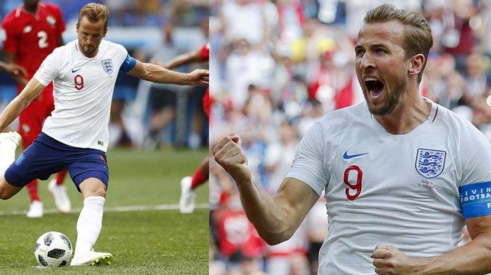 Inggris Bikin Sejarah! Menang Telak 6-1 atas Panama di Grup G Piala Dunia 2018, Lihat Foto-foto