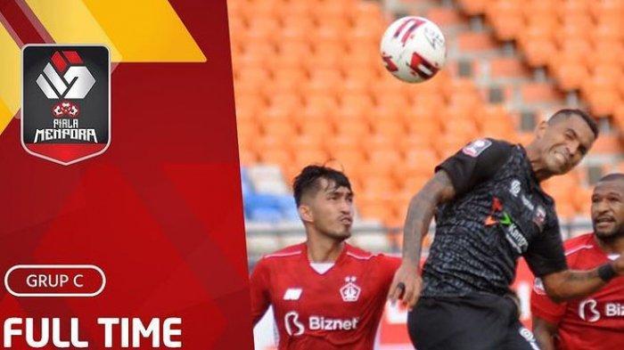Hasil Akhir Persik vs Madura United Piala Menpora 2021 Cuplikan Gol dan Klasemen Akhir Piala Menpora