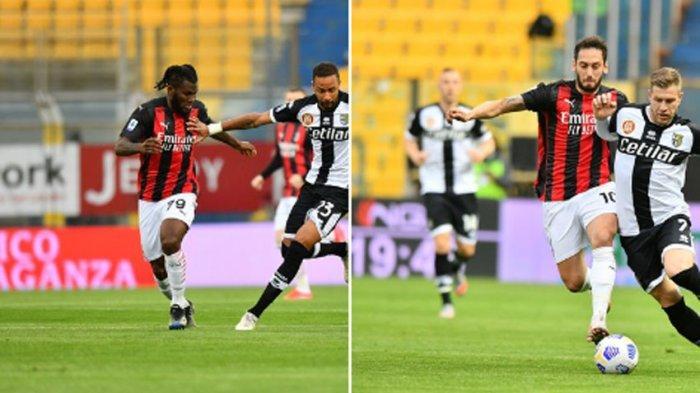 Hasil Liga Italia AC Milan vs Parma