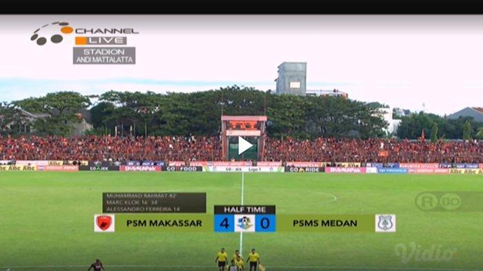 Hasil PSM Makassar vs PSMS Medan, PSM Makassar Koleksi 4 Gol di Babak Pertama