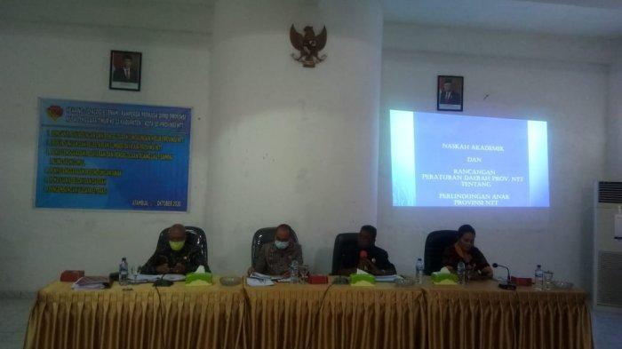 Penjabat Sekda Belu Buka Dialog Ranperda Prakarsa DPR NTT